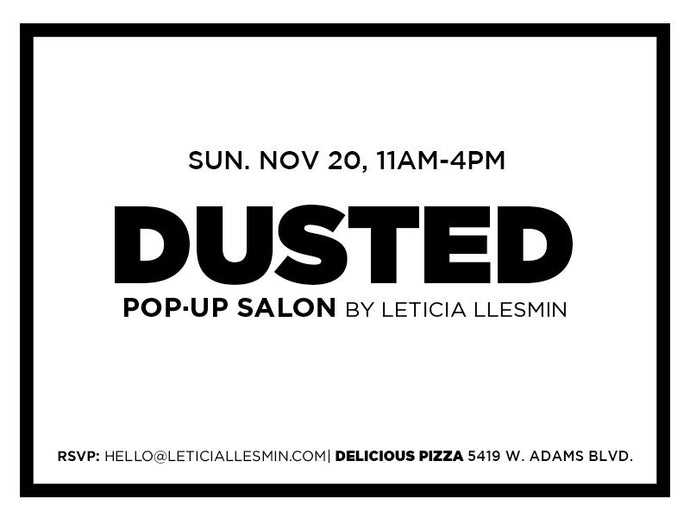DUSTED BEAUTY Pop-up | Delicious Pizza Sunday Brunch & Outdoor Market