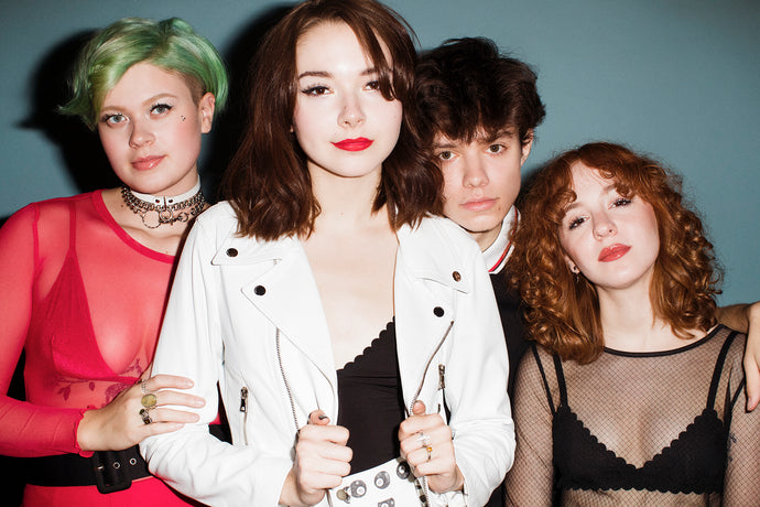 Behind The Scenes: The Regrettes x Kenneth Cappello