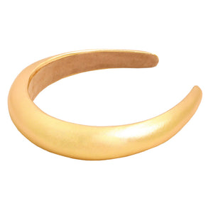 Gold Metallic Padded Headband