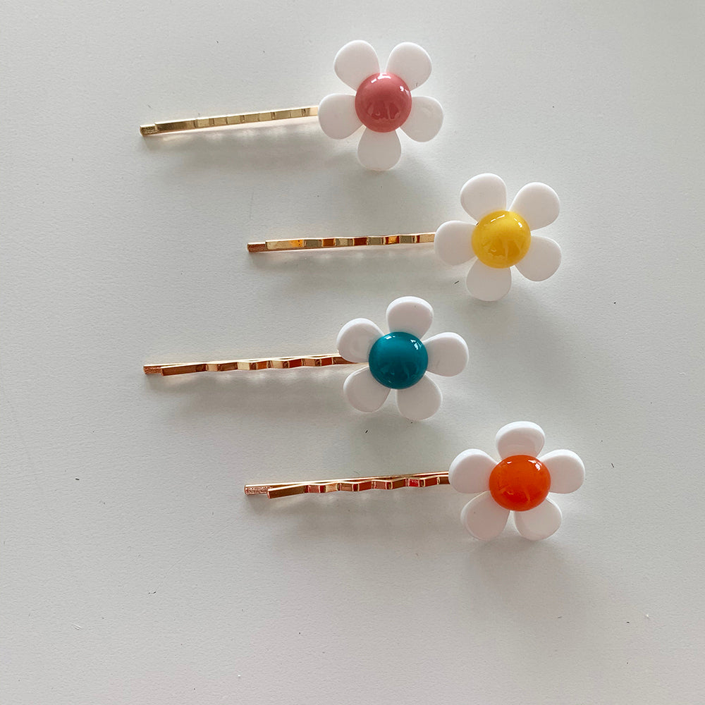 Flower Power Hair Pin Set