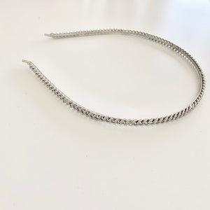 Metal Chain Link Headband