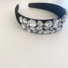 Load image into Gallery viewer, Rhinestone Velvet Headband