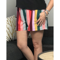 Tyche Striped Colorful shorts