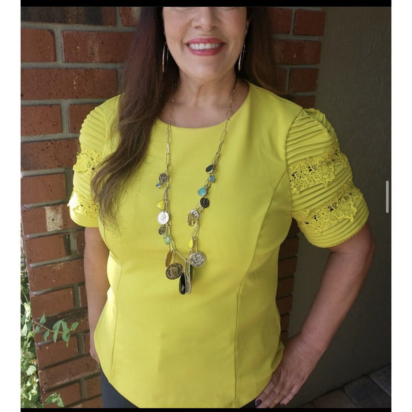 Neon Yellow Top