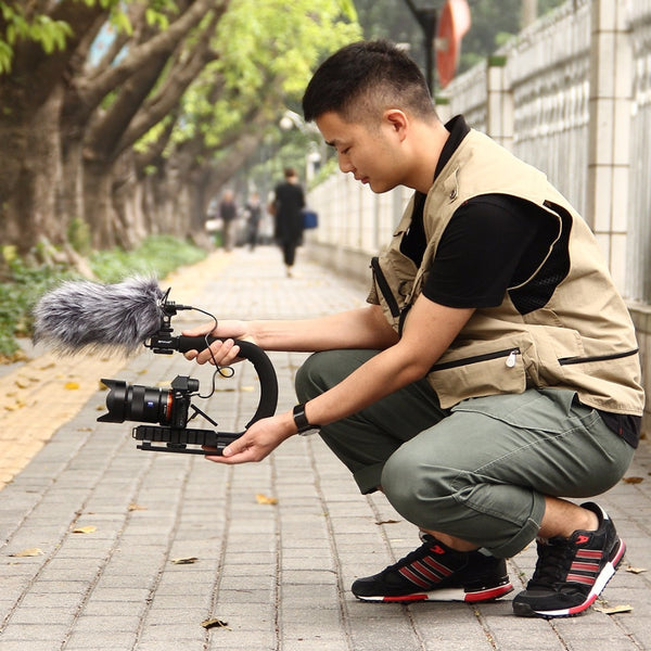 Handheld Stabilizer for DSLR Cameras