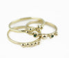 18ct Gold Delicate Elsa Granulation Ring