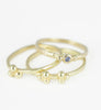 18ct Gold Delicate Granulation Rings