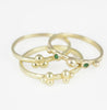 18ct Gold Delicate Nell Granulation Ring