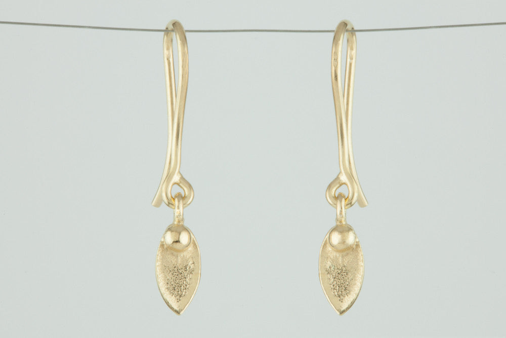 Mimi Leaf Drop Earrings