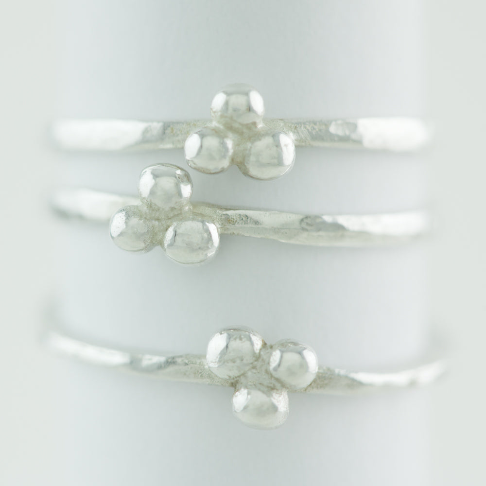 Ella Delicate Granulation Ring
