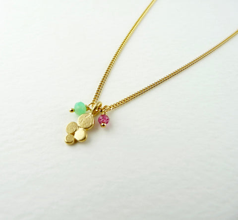 Darcy Granulation Delicate Necklace