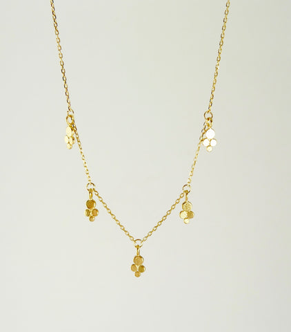Darcy Dotted Delicate Granulation Necklace