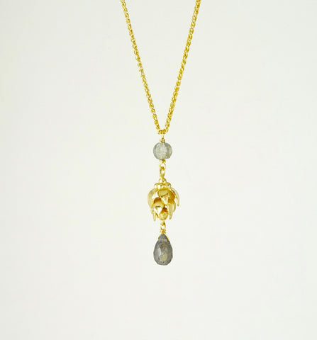 Anoop Labradorite Necklace