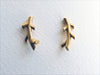 Blossoming, branch, jewellery, jewelry, earrings, studs, sterling, silver, 18ct, gold, nature, natural