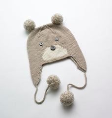 Merino Bear hat