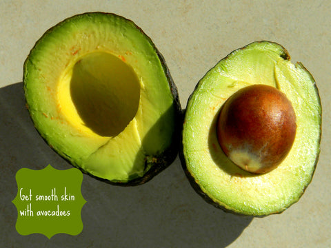 Glowing skin with avocados