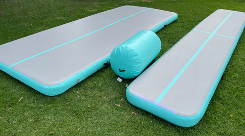 Gym Plus Inflatable Air Track Mat Tumbling Floor 1m/2m wide
