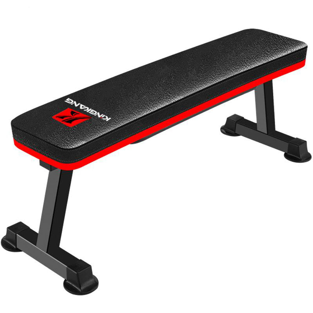 King Kang Foldable Flat Weight Bench Workout Exercise Fitness Bench