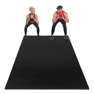 Premium Large Exercise Mat Ultra Durable, Non-Slip, Workout Mats for Home Gym Flooring