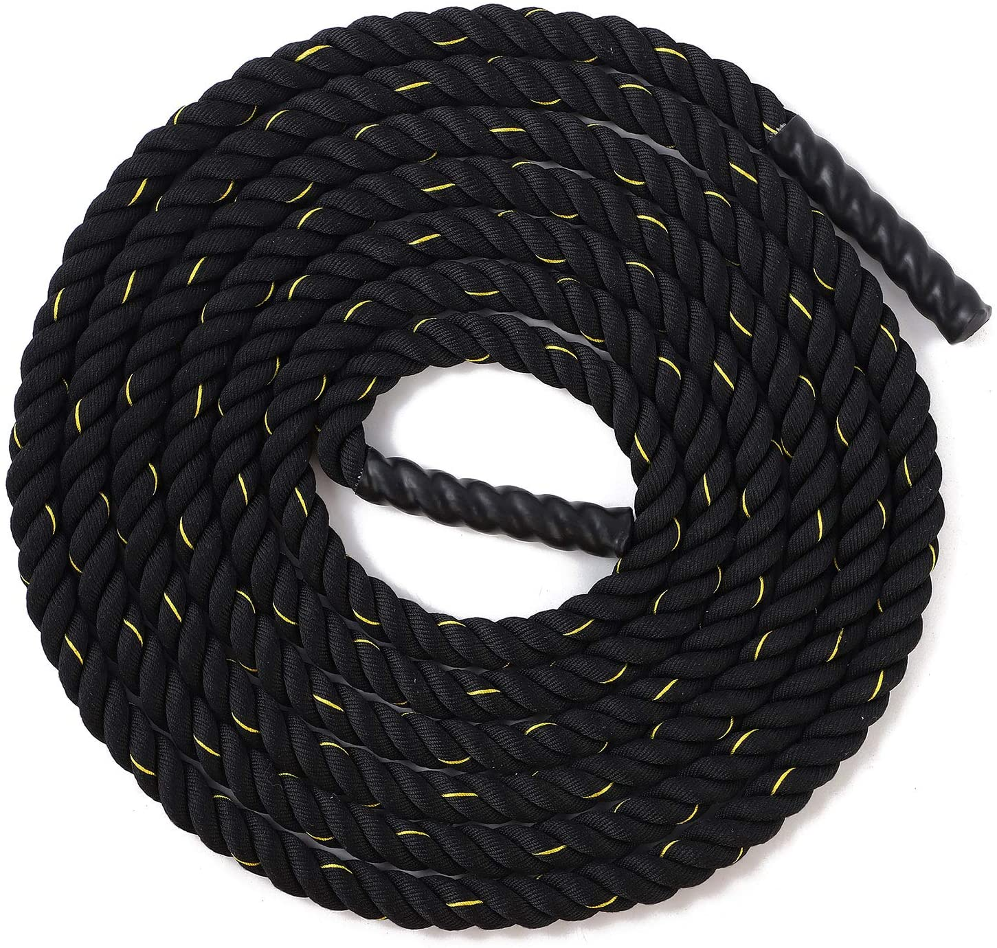 Battle Rope 38mm Diameter Poly Dacron Multiple Lengths Workout Exercise Training Rope