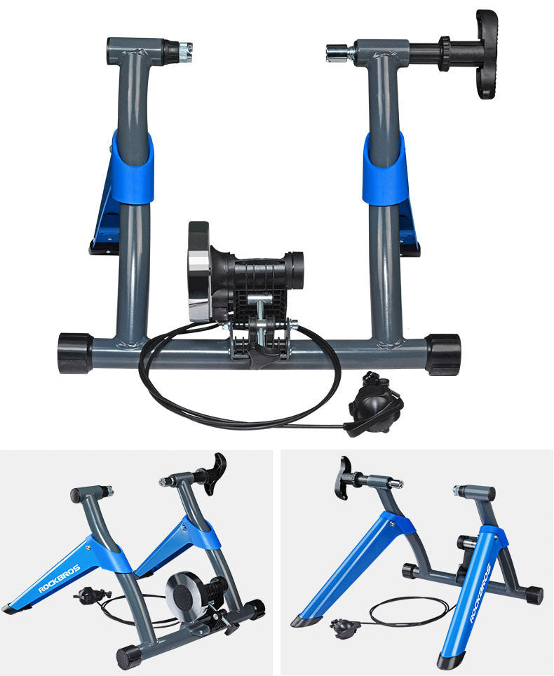 Indoor Bicycle Trainer - Bike Cycling Stationary Magnetic Training Stand