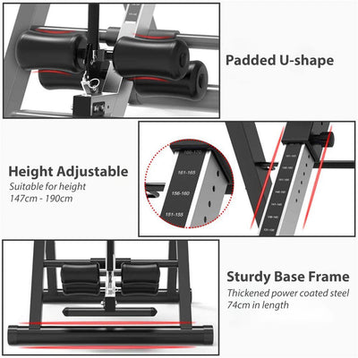 Foldable Gravity Inversion Table Back Stretcher Inverter Machine Height Adjustable