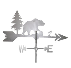 Bear and Trees Weathervane