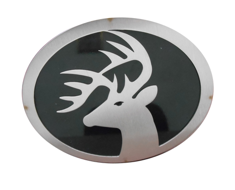Buck w/Black Hitch Cover