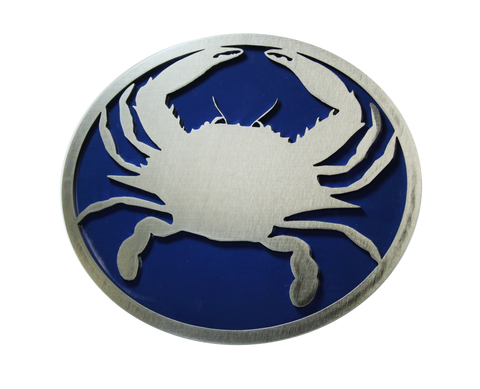 Crab w/Blue Hitch Cover