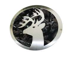 Buck w/Camo Hitch Cover