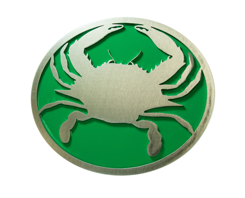 Crab w/Green Hitch Cover