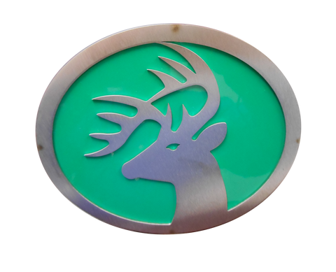 Buck w/Green Hitch Cover