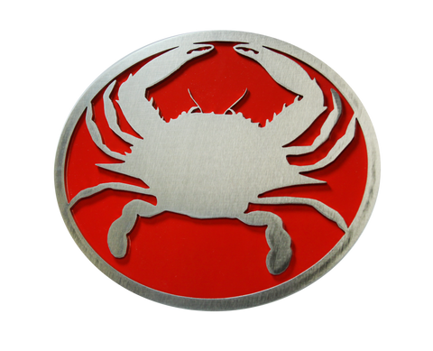 Crab w/Red Hitch Cover