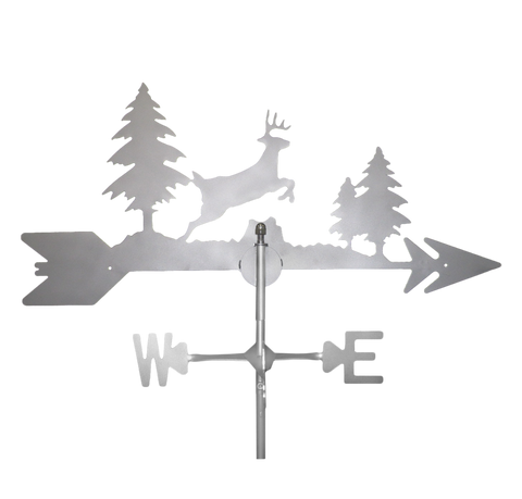 Stainless Steel Deer Weathervane