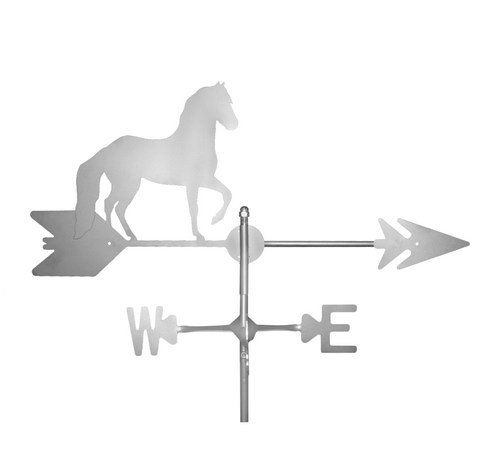 Stainless Steel Horse Weathervane