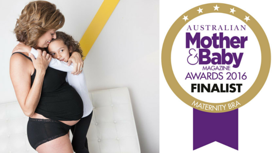 MODIBODI IS A FINALIST IN THE 2016 MOTHER AND BABY AWARDS - BEST MATERNITY BRA