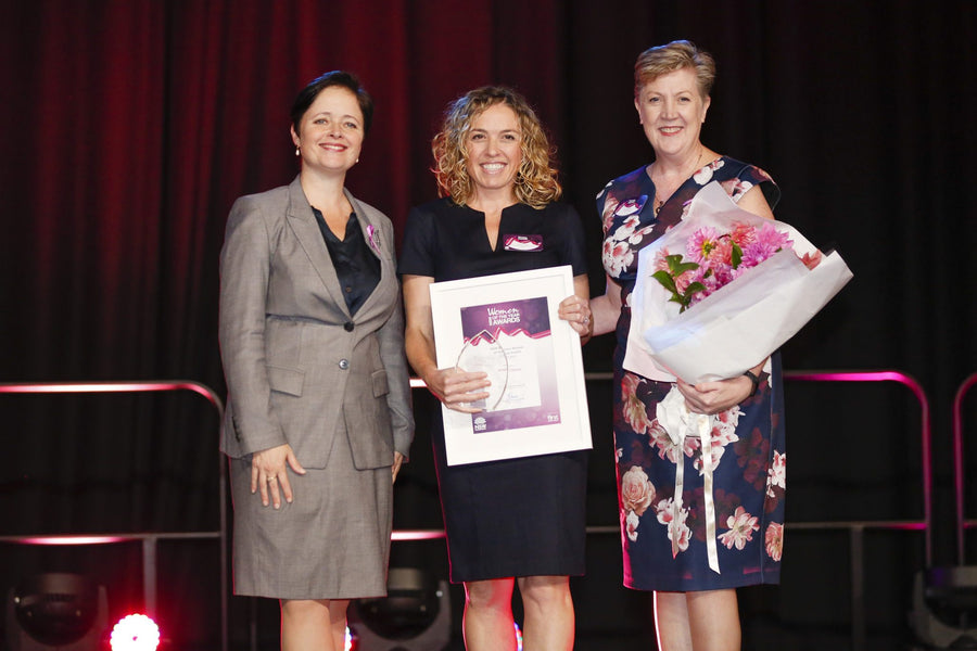 MODIBODI'S CEO & FOUNDER, KRISTY CHONG NAMED NSW BUSINESS WOMAN OF THE YEAR 2018