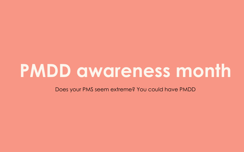 Up to 90% of PMDD sufferers are undiagnosed. Are you one of them?