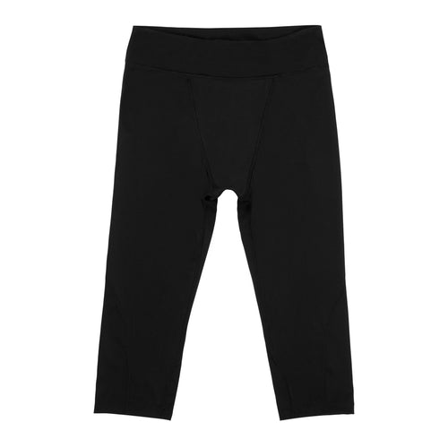 Modibodi Active 3/4 Leggings Black Light-Moderate Flatlay