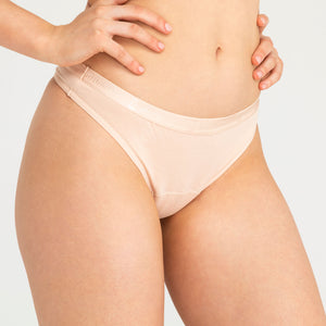 Modibodi Classic Thong Beige Super Light