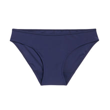 Load image into Gallery viewer, Modibodi Swimwear Bikini Brief Navy Light-Moderate Flatlay