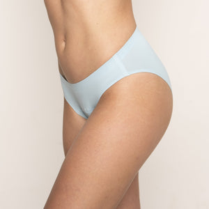 Modibodi Seamfree Bikini Sky Blue Moderate-Heavy