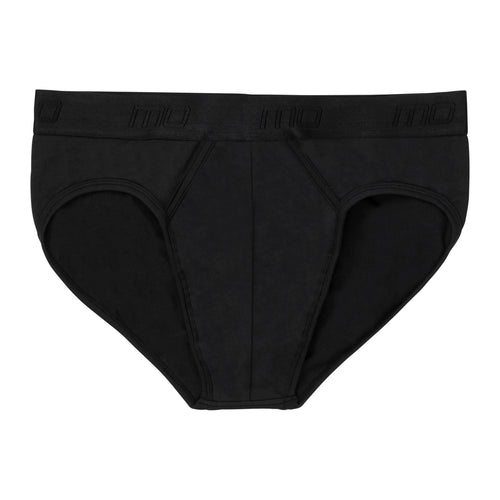 MO by Modibodi Mens Brief Black Light-Moderate Flatlay