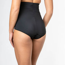 Load image into Gallery viewer, Modibodi Contour Hi-Waist Full Brief Black Light-Moderate