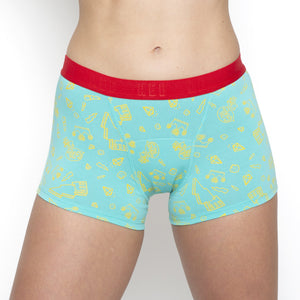 Teen Period Underwear - RED Modibodi Hipster Boyshort