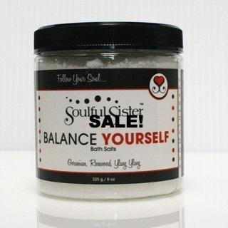 Soulful Sister Bath Salts Balance