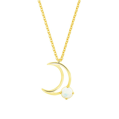 New Arrival Trendy Horn Crescent Moon Charm