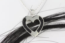 Load image into Gallery viewer, Heart Shaped Horse Hair Pendant