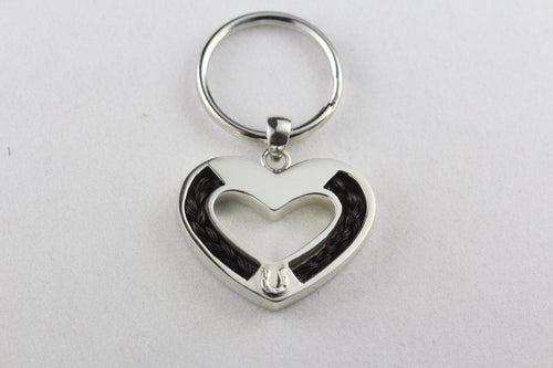 Hoofprint on Your Heart Pendant or Key Chain