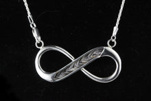 Load image into Gallery viewer, Infinity Pendant with chain